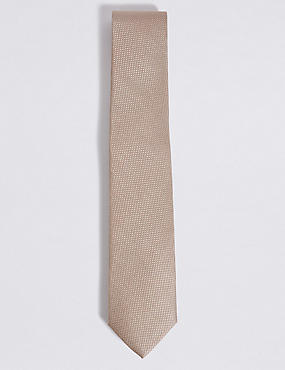 Pure Silk Textured Tie