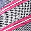 Pure Silk Striped Tie, MAGENTA MIX, swatch