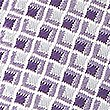Pure Silk Geometric Hank & Tie Set, LILAC, swatch