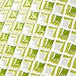Pure Silk Geometric Hank & Tie Set, CHARTREUSE, swatch