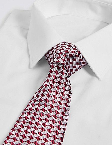 Brick Geometric Tie