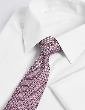 Geometric Tie & Pocket Square set