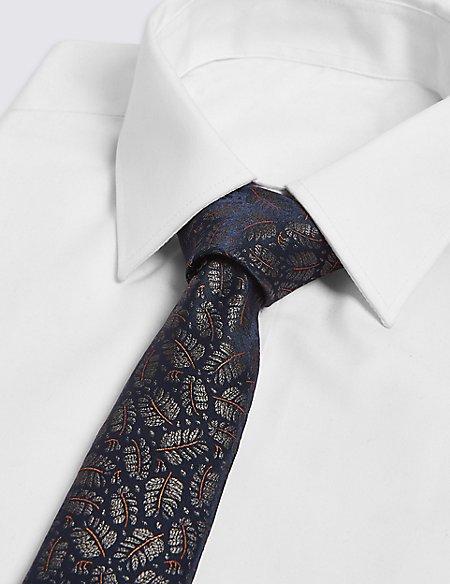 Fern Design Novelty Tie