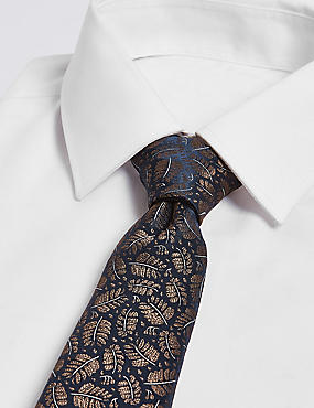 Fern Design Novelty Tie
