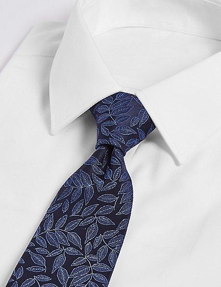 Pure Silk Leaf Tie