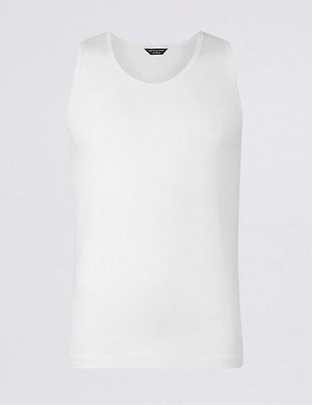 Supima® Modal Blend Crew Neck Vest