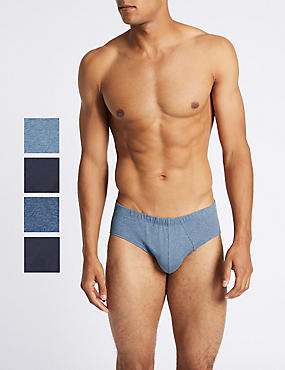 4 Pack Pure Cotton Cool & Fresh™ Assorted Slips