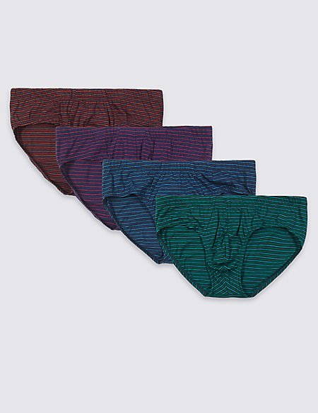 4 Pack Cool & Fresh™ Pure Cotton Slips