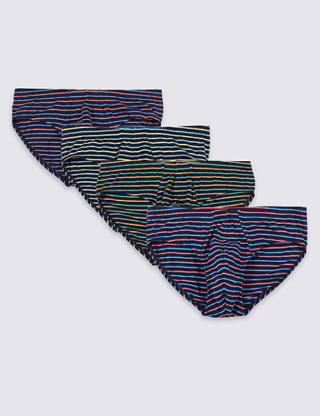 4 Pack Pure Cotton Cool & Fresh™ Slips