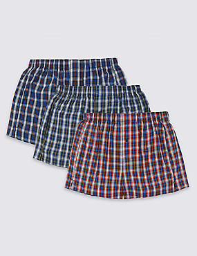 3 Pack Cool & Fresh™ Pure Cotton Boxers