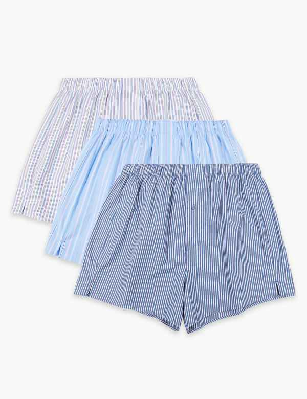 dc076f0205f1 3 Pack Pure Cotton Cool & Fresh™ Boxers