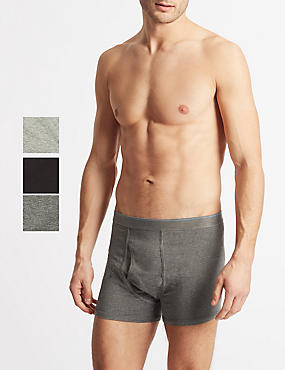 ac654dd8de85 3 Pack Cool & Fresh™ Stretch Cotton Trunks. M&S Collection