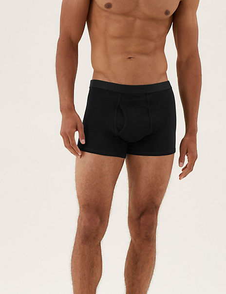 10 Pack Cotton Rich Cool & Fresh™ Trunks