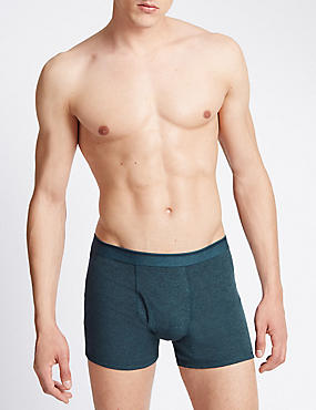 3 Pack Pure Cotton Cool & Fresh™ Trunks