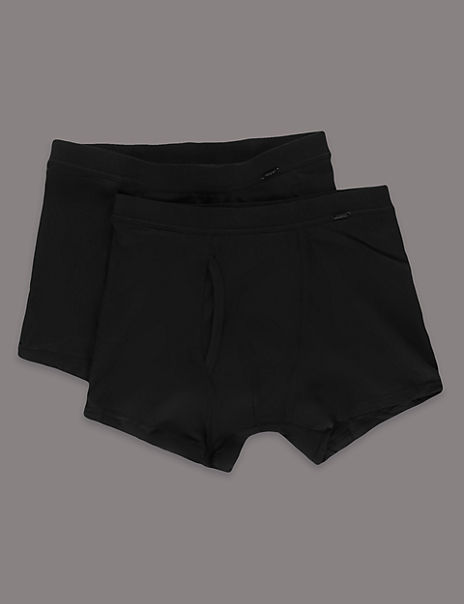 2 Pack Cotton Blend Trunks