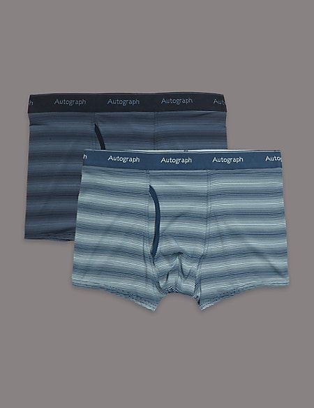 2 Pack Striped Trunks