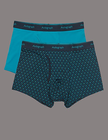 2 Pack 4-Way Stretch Trunks