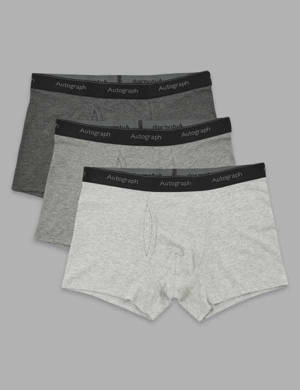 04d1564caef4 Mens Trunks | Microskin & Cotton Trunks For Men | M&S