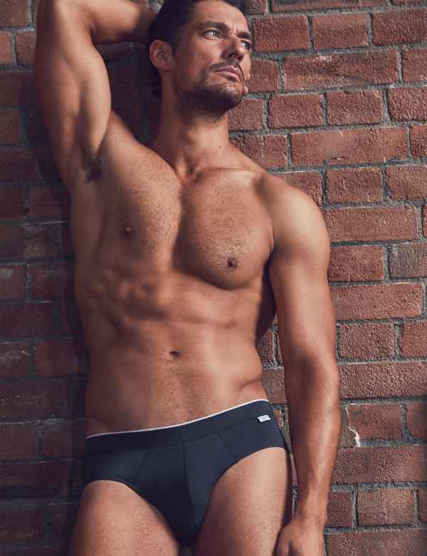 dce6e7b66b3d1 2 Pack Cotton Blend Briefs. David Gandy for Autograph
