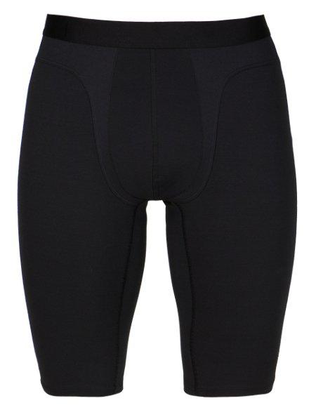 Active Contrast Stitch Long Pants