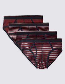 4 Pack Cotton Rich Cool & Fresh™ Briefs