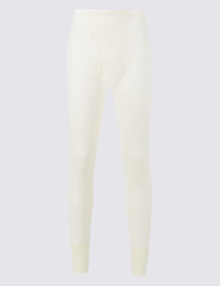 Wool Blend Thermal Long Johns