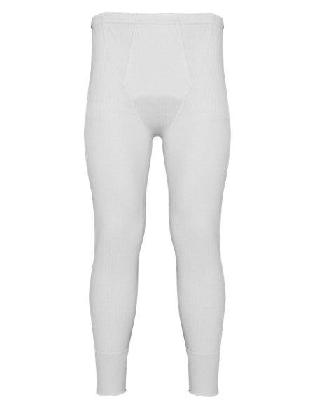 Ribbed Thermal Long Pants
