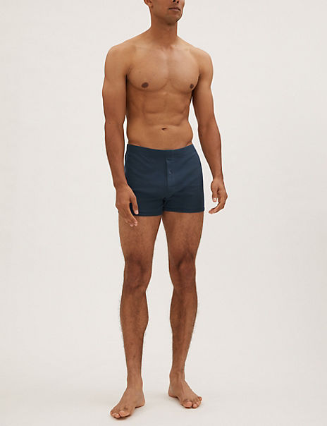 10 Pack Cotton Trunks