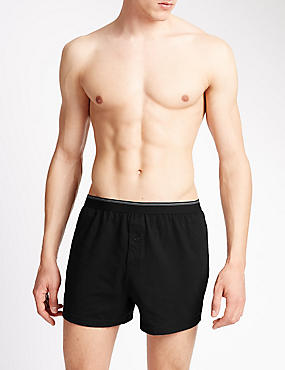3 Pack Cotton Jersey Boxers