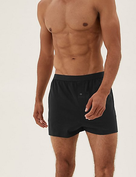 5 Pack Cotton Jersey Boxers