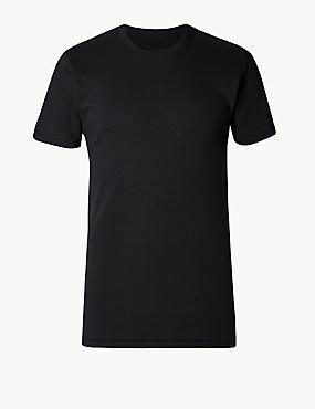 Short Sleeve Cotton Rich Thermal Vest