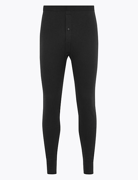 Medium Warmth Cotton Blend Thermal Long Pant