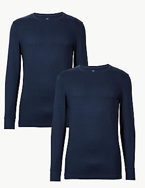 2 Pack Heatgen™ Long Sleeve Vests