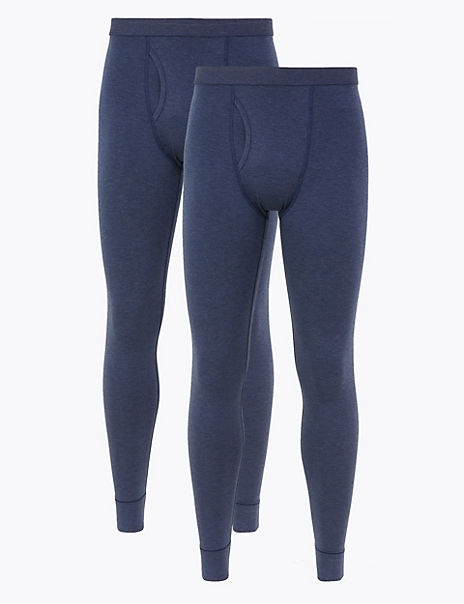 2 Pack Light Warmth Thermal Long Johns