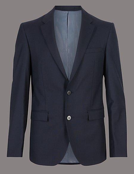 Big & Tall Tailored Fit Italian Wool Jacket