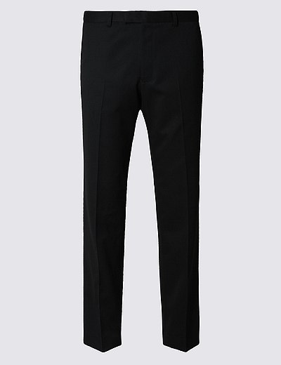 d294b01a436 Černé kalhoty úzkého střihu