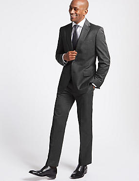 Big & Tall Grey Regular Fit Suit