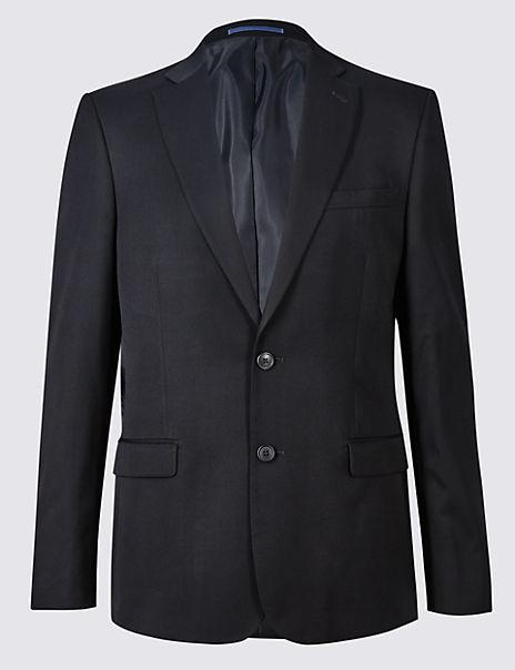 Navy Slim Fit Jacket