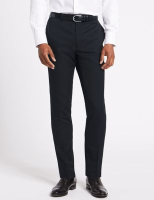 Navy Skinny Fit Trousers
