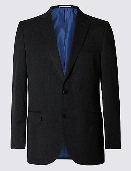 Big & Tall Charcoal Slim Fit Jacket