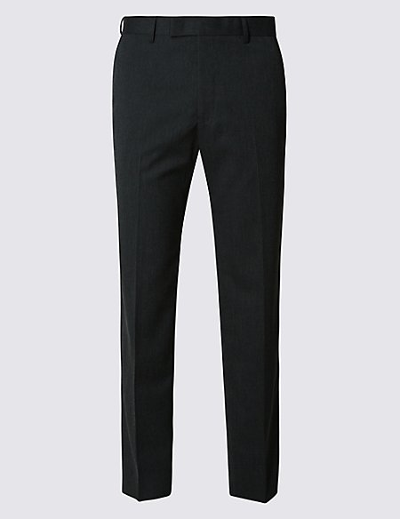 Big & Tall Charcoal Slim Fit Trousers