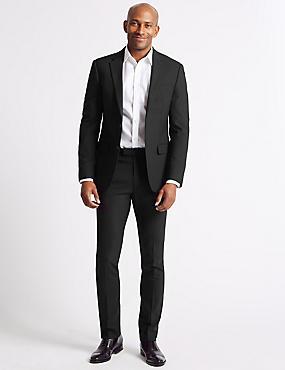 Big & Tall Black Slim Fit Suit