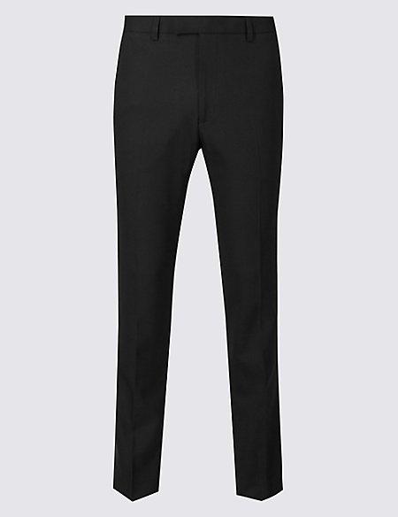 Big & Tall Black Slim Fit Trousers