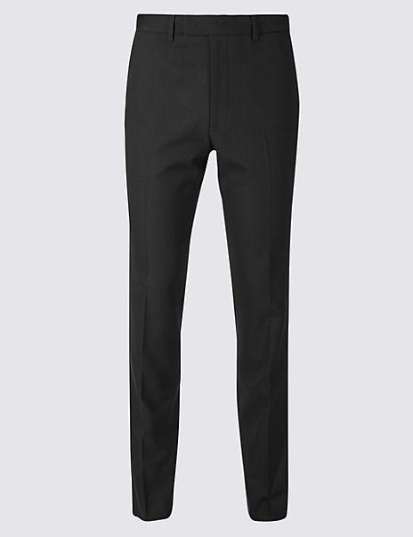 Black Slim Fit Trousers