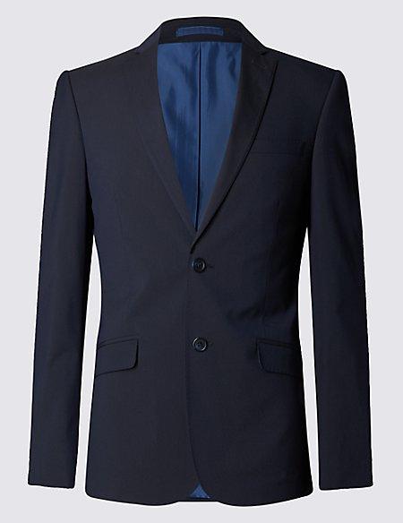 Navy Superslim Fit Jacket