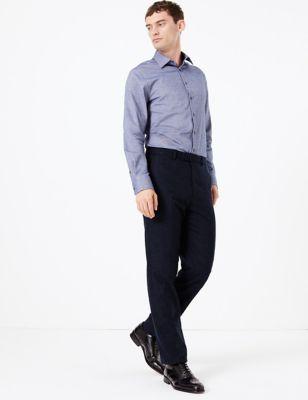 Pantalón slim de estilo italiano