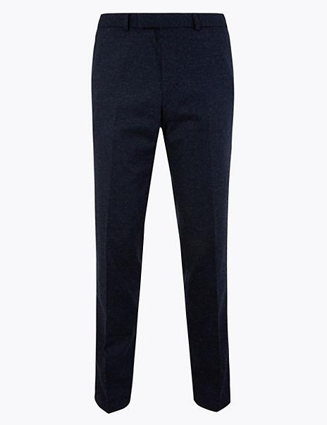 Slim Fit Italian Trousers