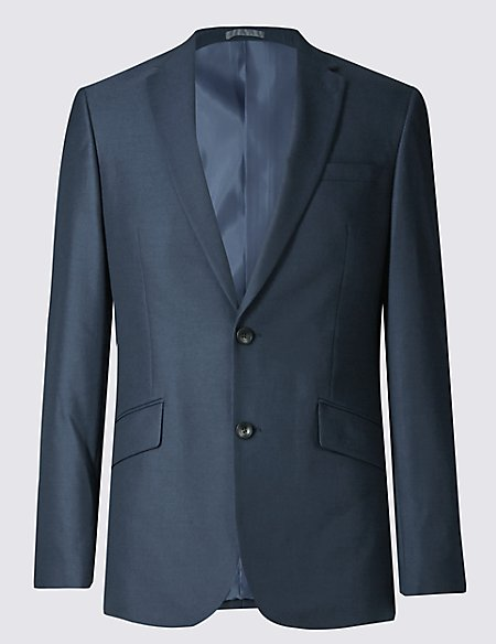 Indigo Slim Fit Jacket