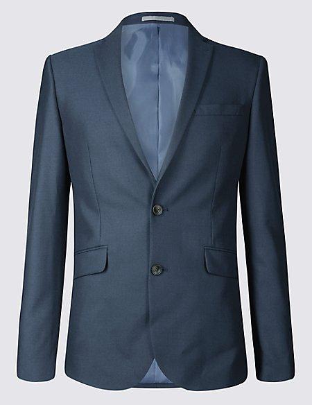 Indigo Modern Slim Fit Jacket