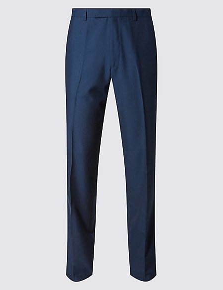 Big & Tall Indigo Modern Slim Fit Trousers